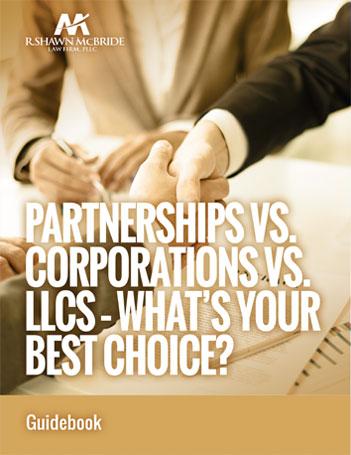 PARTNERSHIPS VS CORPORATIONS VS LLCS